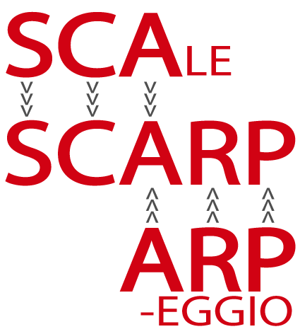 Scarp is a cross between a scale and an arpeggio